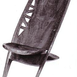 Chaise Bangamisa/1958